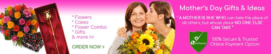 Mothers Day - 13th May