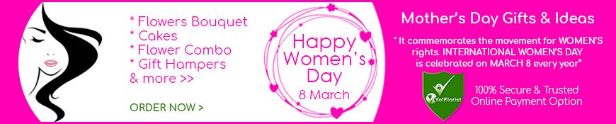 Women's Day - 8th Mar