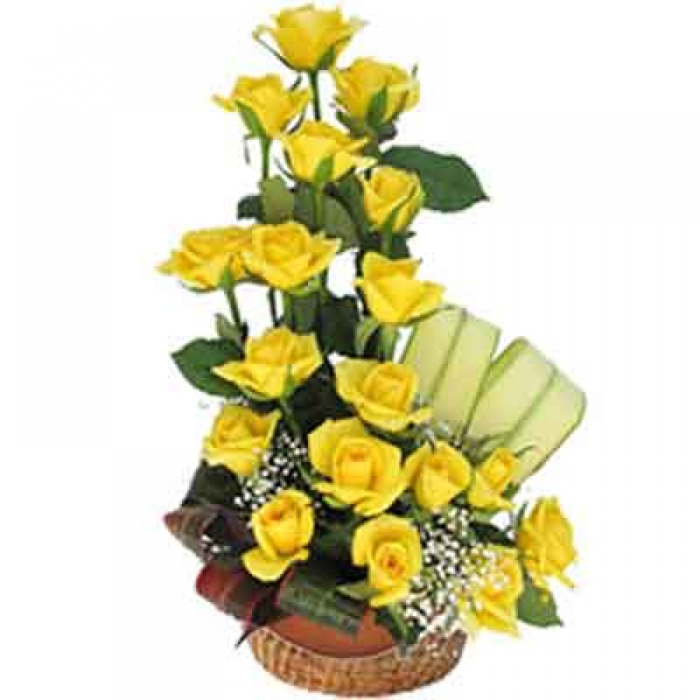 Yellow Roses Bliss