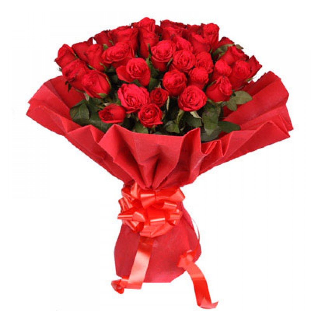 40 Red Roses Bouquet
