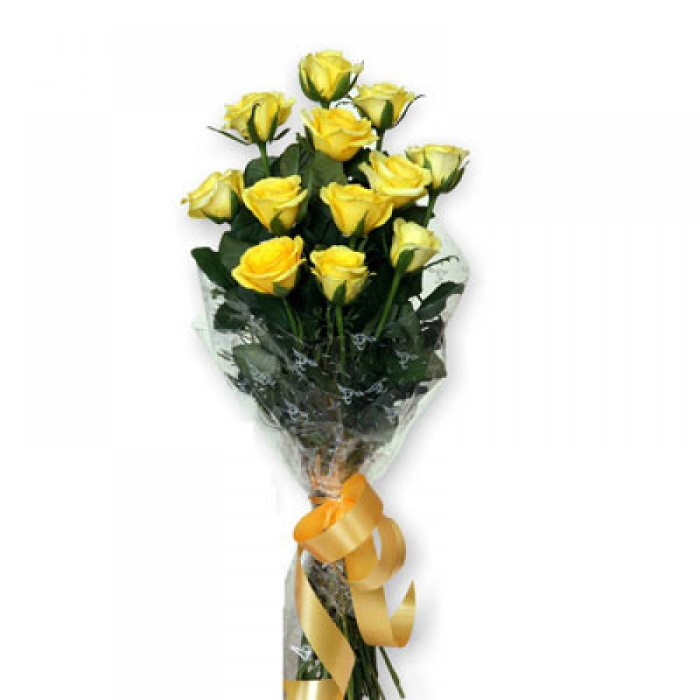 Yellow Roses Affection