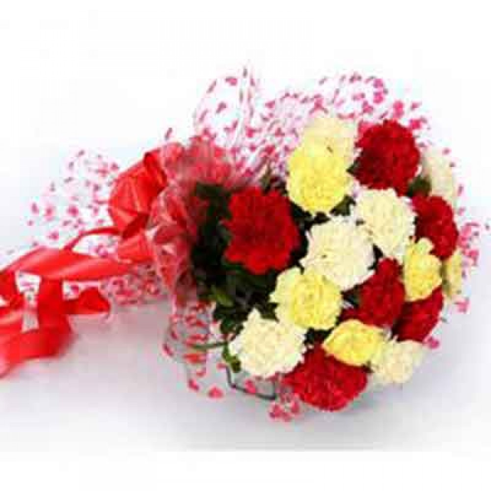 Colorful Carnations Bouquet