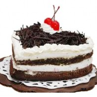 2Kg Black forest Heart Shape Cake
