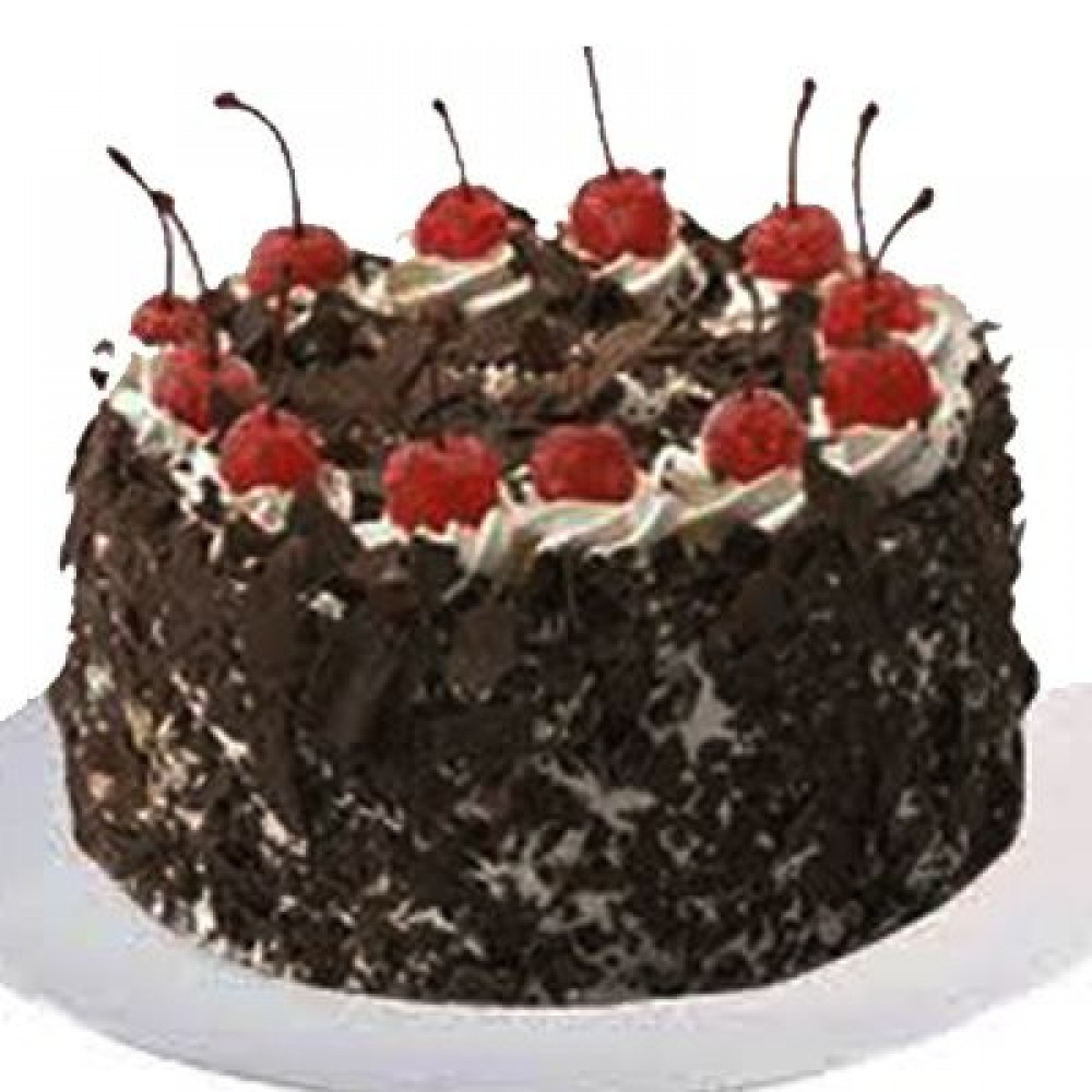 2kg Blackforest Egg less Cake
