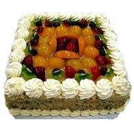 2Kg Fresh Fruit Egg less Cake