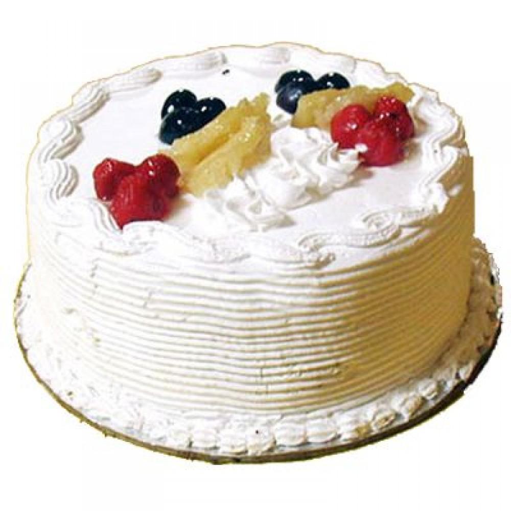 2Kg Pineapple Egg less Cake