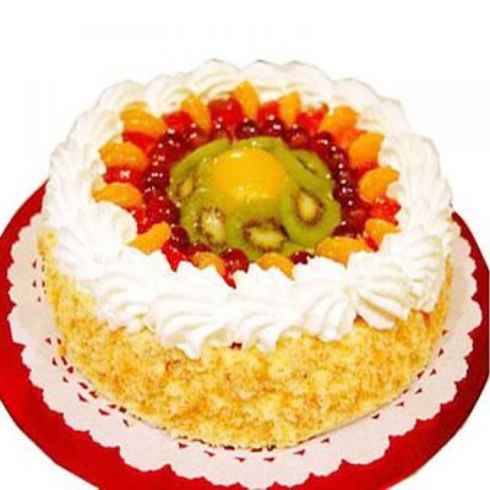 Egg less Fresh Fruit Cake