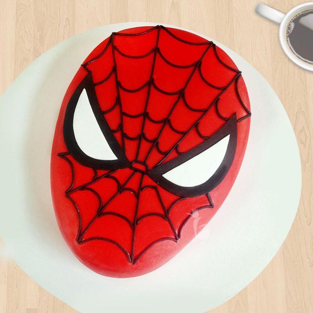 Rockstar Spiderman Vanila Cake 2Kg