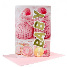 Greeting cards send or buy greeting cards online at lowest price baby girl card m4hsunfo