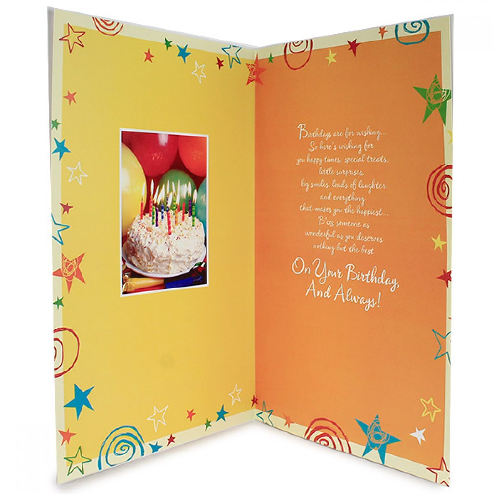 Birthday Treat Card Send Birthday Treat Card To Your Loved Ones On