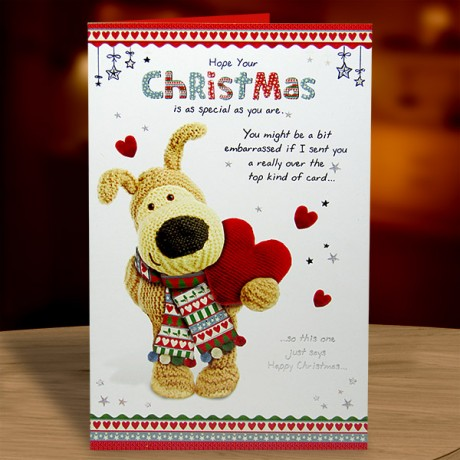 Boofle Christmas Card
