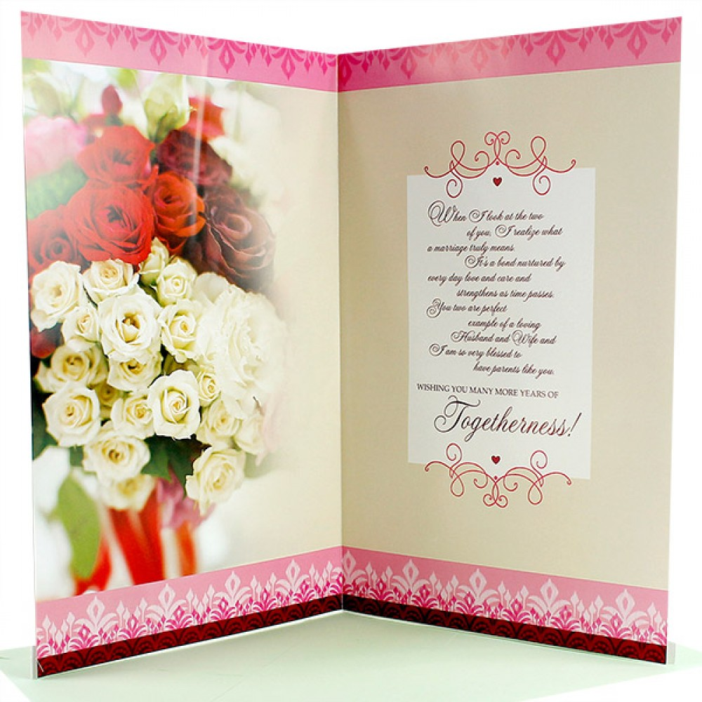 Mom And Dad Anniversary Card Send Mom And Dad Anniversary Card To