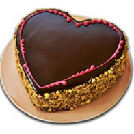 Heart Shape Chocolate Cake 1Kg