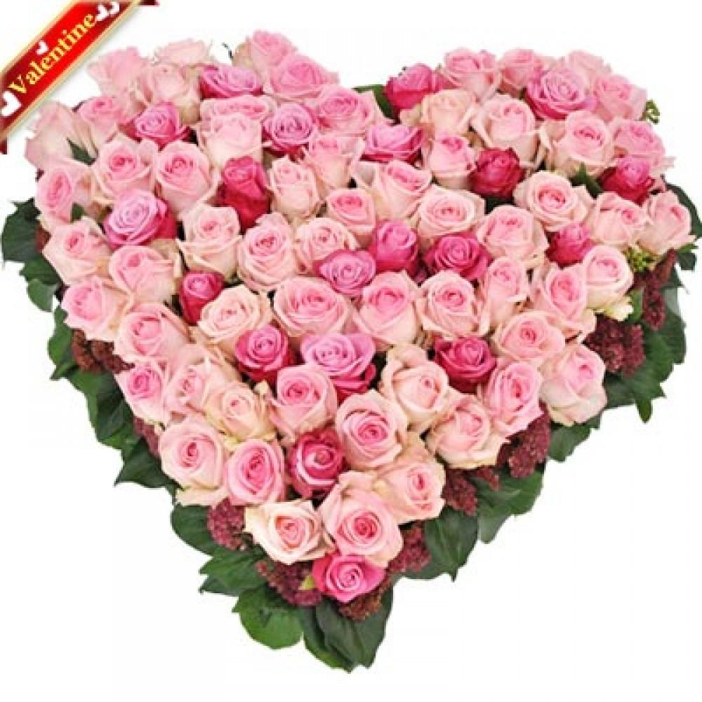 Valentine Pretty Pink Heart