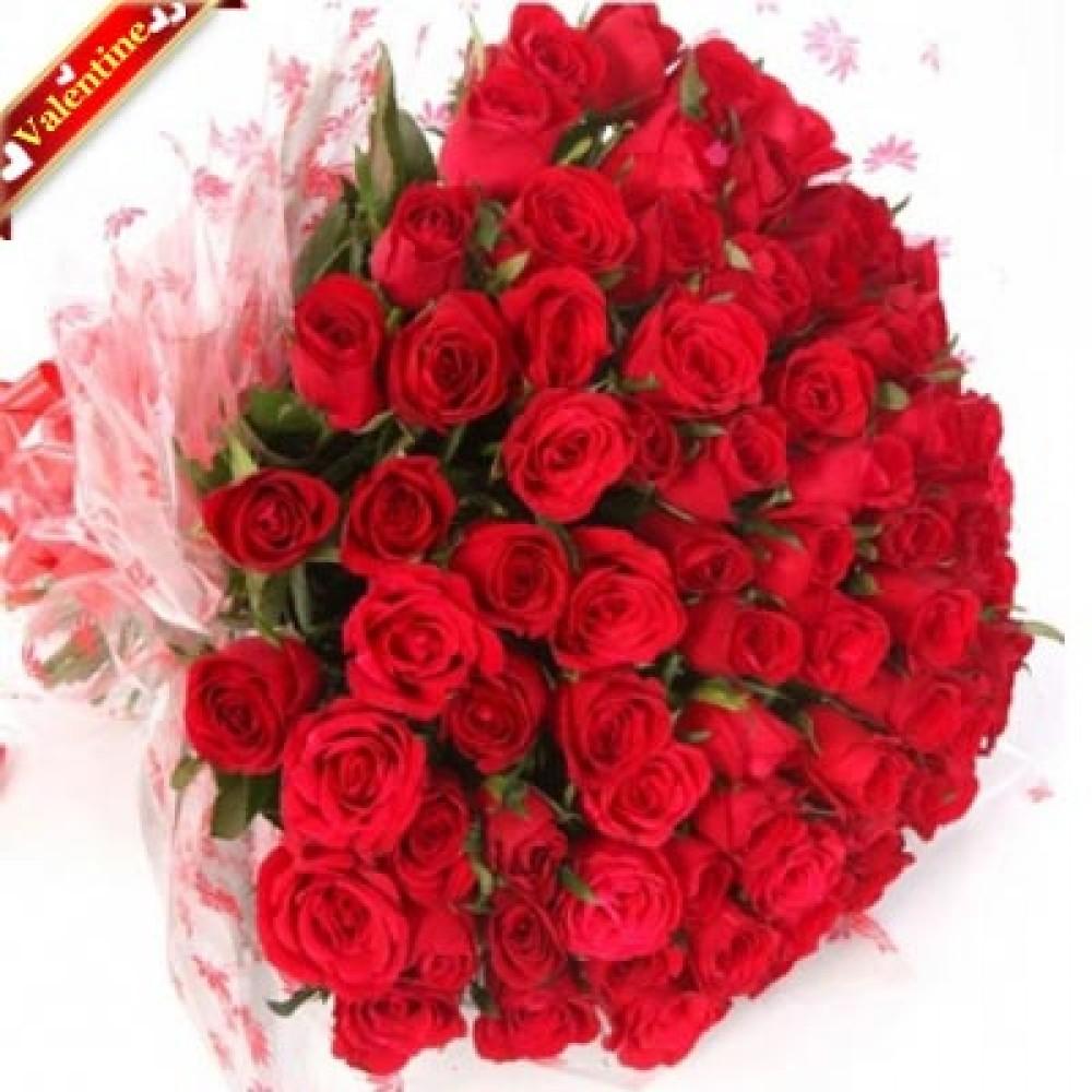 Valentine Smiling Roses